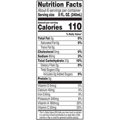 V8® Fruit & Vegetable Blends Juice Blend, Strawberry Banana