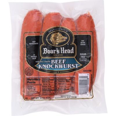 Boar's Head Beef Knockwurst