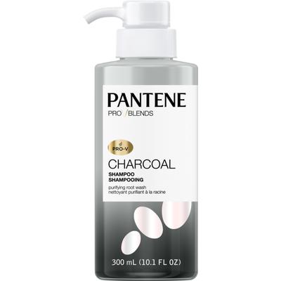 Pantene Pro-V Blends Charcoal Shampoo Purifying Root Wash