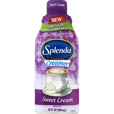 Splenda Coffee Creamer, Sweet Cream