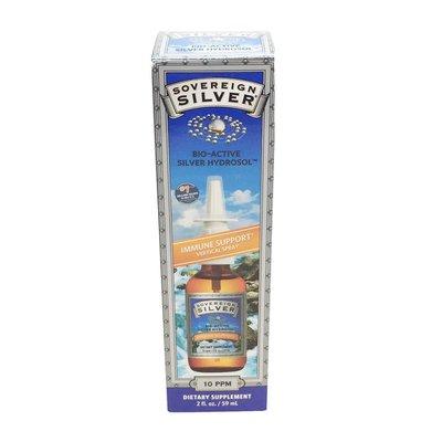 Sovereign Silver Silver Hydrosol, Bio-Active, 10 ppm, Vertical Spray