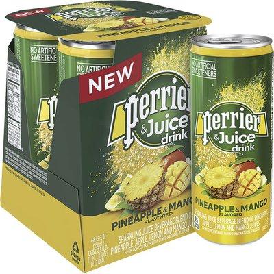 PERRIER Pineapple & Mango Sparkling Water