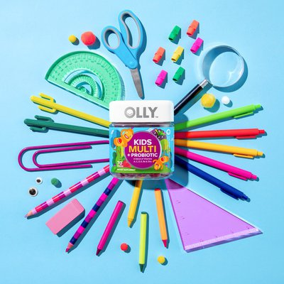 Olly Kid's Multi+Probiotic Yum Berry Punch