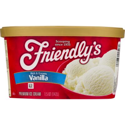 Friendly's Premium Ice Cream Vanilla