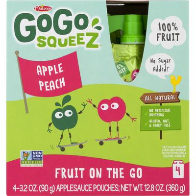 GoGo Squeez Fruit On The Go Apple Peach