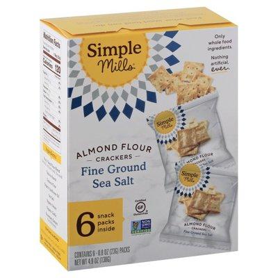 Simple Mills Fine Ground Sea Salt Almond Flour Crackers