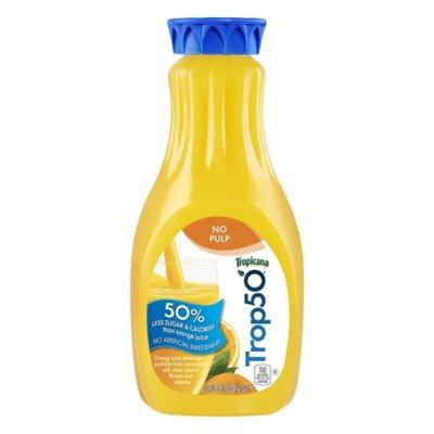 Tropicana No Pulp Orange Juice Beverage