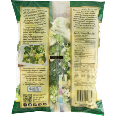 Mann Family Favorites Broccoli & Cauliflower