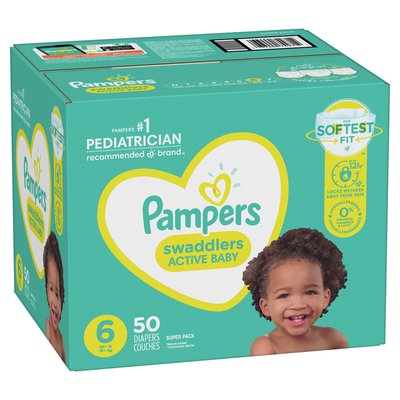 Pampers Active Baby Diapers Size 6
