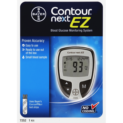 Contour Next EZ Blood Glucose Monitoring System