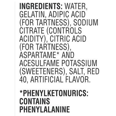 Jell-O Strawberry Sugar Free Ready-to-Eat Gelatin Snacks