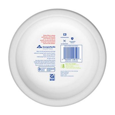 Dixie Ultra Paper Bowls, 20oz Disposable Bowls (Designs May Vary)