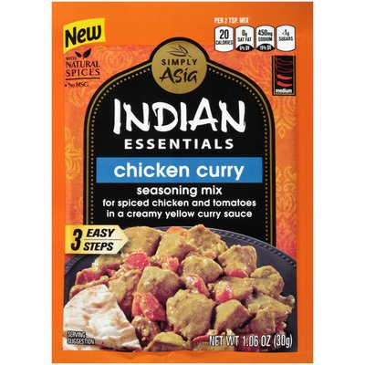 Simply Asia® Indian Essentials Chicken Curry Seasoning Mix
