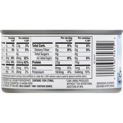 Signature Select Tuna in Water, Solid White Albacore