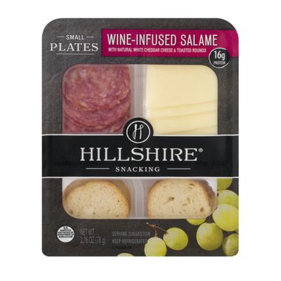 Hillshire Farm Wine Infused Salami, Snacking