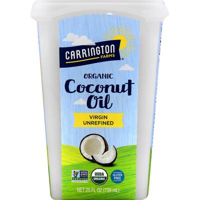 Carrington Farms Coconut Oil, Organic, Virgin Unrefined