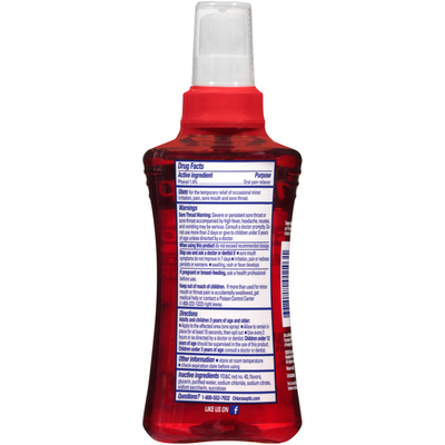 Chloraseptic Sore Throat Cherry Flavor Phenol/Oral Pain Reliever
