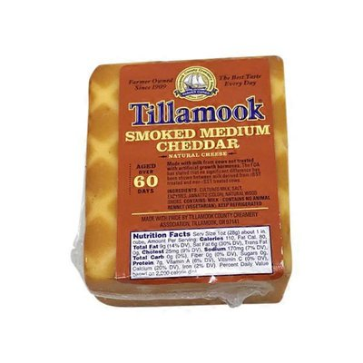 Tillamook Smoked Cheddar Cheese