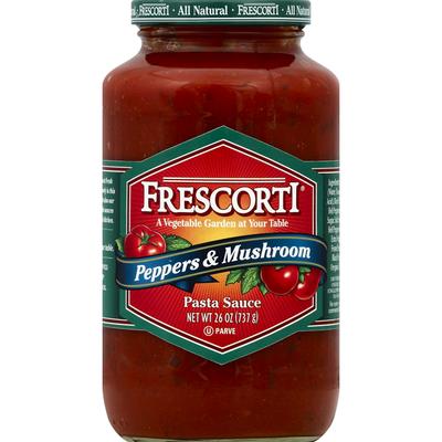 Frescorti Pasta Sauce, Peppers & Mushroom