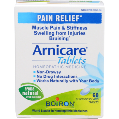 Boiron Arnicare, Homeopathic Medicine for Pain Relief