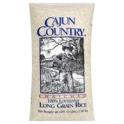 Cajun Country Rice, Enriched, Long Grain, 100% Louisiana