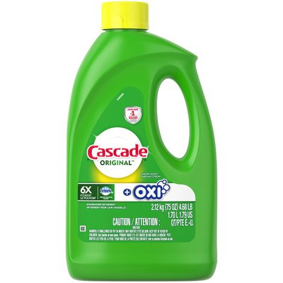 Cascade Gel + Oxi, Dishwasher Detergent