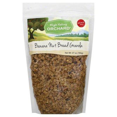 High Valley Orchard Granola, Banana Nut Bread