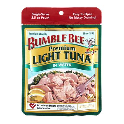 Bumble Bee Wild Caught Light Tuna in Water