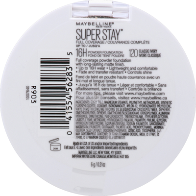 Maybelline Super Stay Full Coverage Classic Ivory