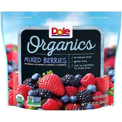 Dole Mixed Berries, Organics
