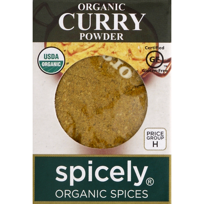 Spicely Curry Powder, Organic