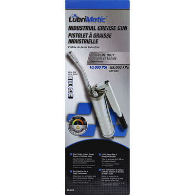 LubriMatic Grease Gun, Industrial, Extreme Duty