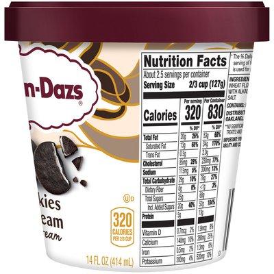Haagen-Dazs HAAGEN-DAZS Cookies & Cream Ice Cream
