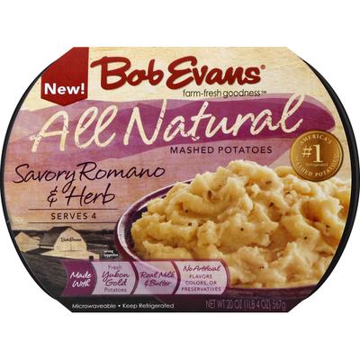 Bob Evans Farms Mashed Potatoes, Savory Romano & Herb