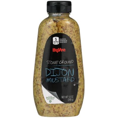 Hy-Vee Stone Ground Dijon Mustard