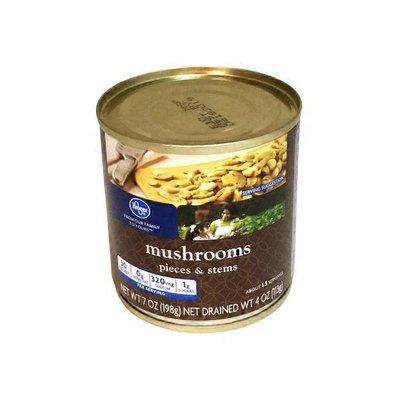 Kroger Mushrooms Pieces & Stems