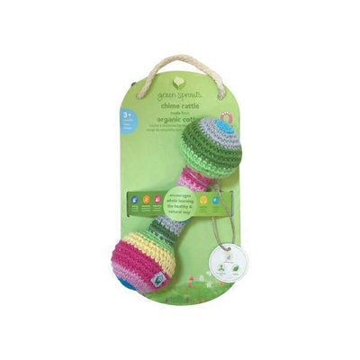 green sprouts Chime Rattle