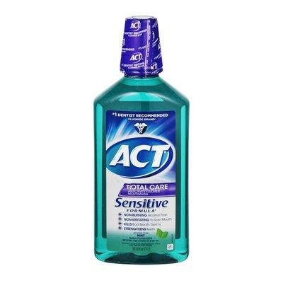 ACT Total Care Mouthwash Sensitive Formula Mint