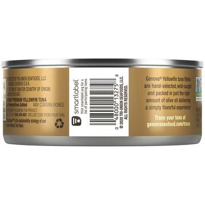 Genova Yellowfin Tuna in Olive Oil with Sea Salt
