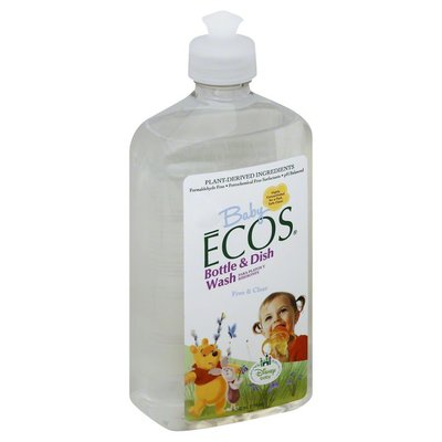 Baby Ecos Bottle & Dish Wash, Free & Clear, Disney Baby