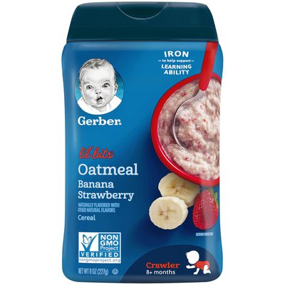 Gerber Oatmeal Banana Strawberry Cereal