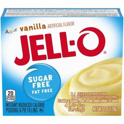 Jell-O Vanilla Sugar Free & Fat Free Instant Pudding & Pie Filling Mix