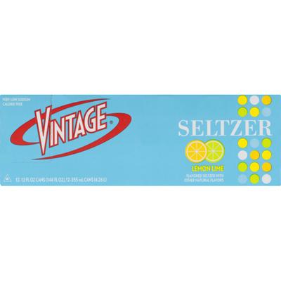 Vintage Seltzer Lemon Lime