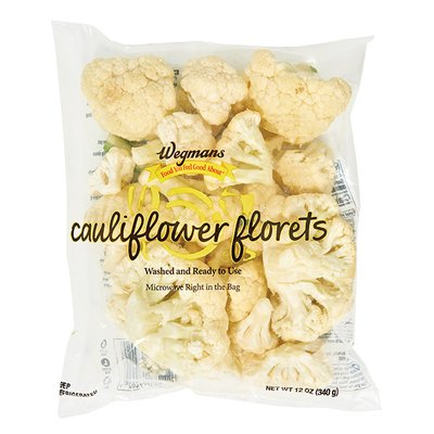 Wegmans Food You Feel Good About Cleaned and Cut Cauliflower Florets