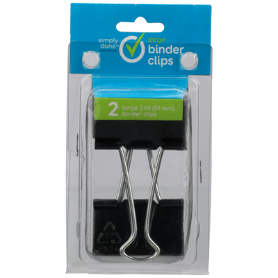 Simply Done Large Binder Clips