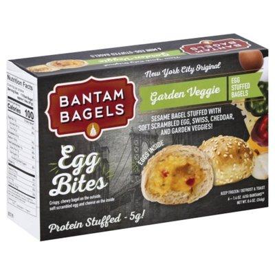 Bantam Bagels Garden Veggie Egg Bites
