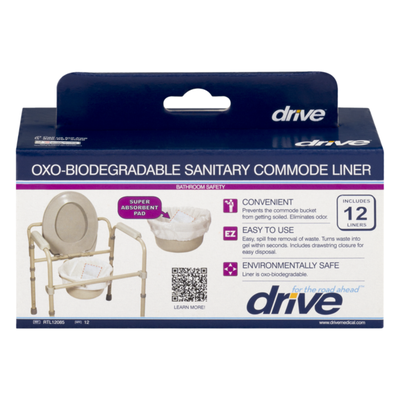 Drive Oxo-Biodegradable Sanitary Commode Liner