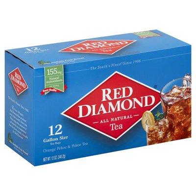 Red Diamond Tea, All Natural, Box
