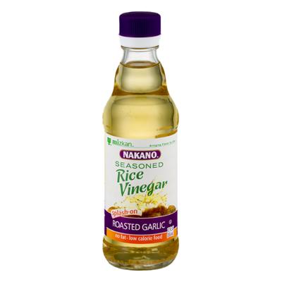 Nakano Rice Vinegar, Seasoned, Roasted Garlic