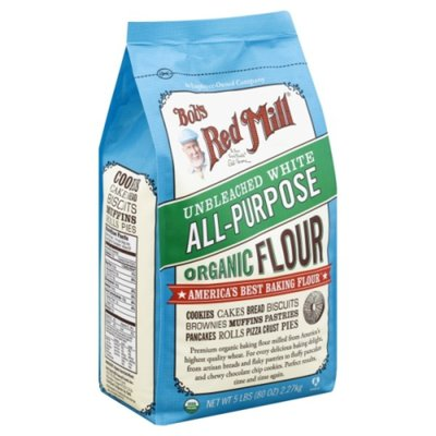 Bob's Red Mill White All-Purpose Flour, Unbleached, Organic